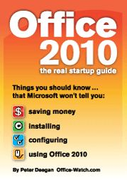 OIT cover - Office 2010 - the real startup guide - Second Edition out now